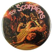 Scorpions - 'Stage Collage' Button Badge